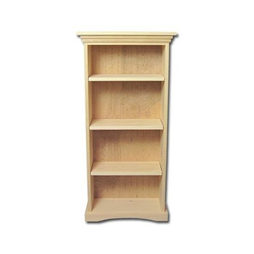 Stunning awesome unfinished wood bookshelves on amazon com new solid wood bookcase  kit unfinished solid wood bookcases