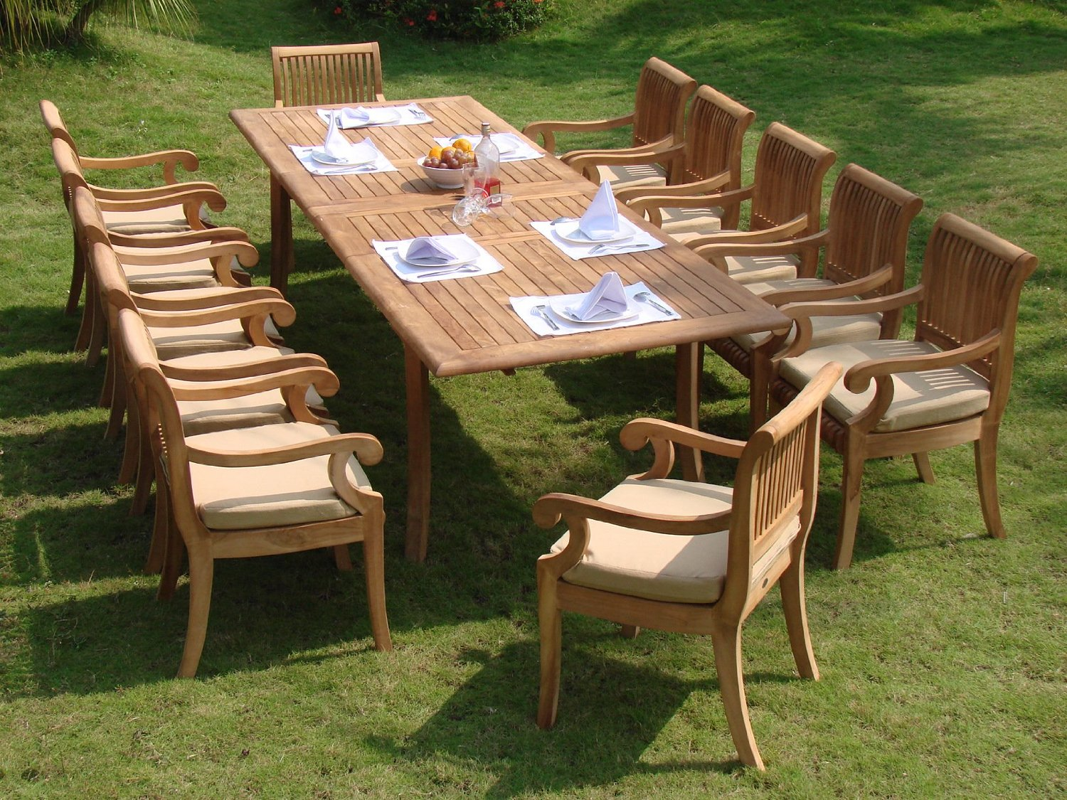 Stunning best teak outdoor dining set reviews teak garden furniture sets
