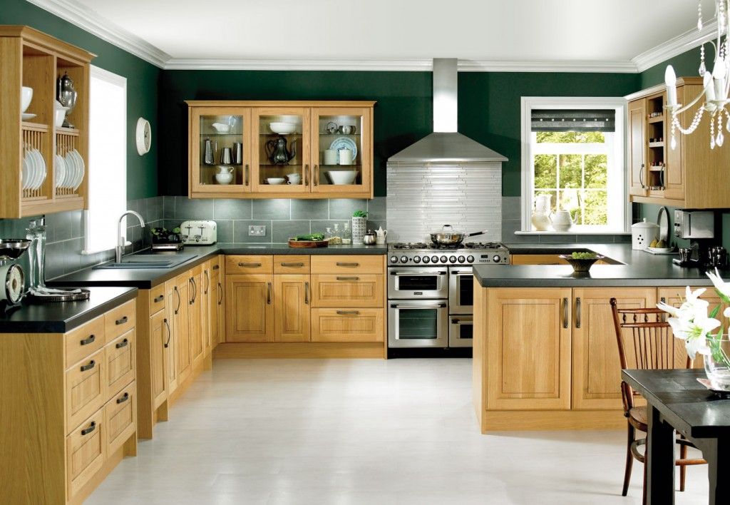 Stunning Cu0026L-Solid-Oak-Classic solid oak kitchens