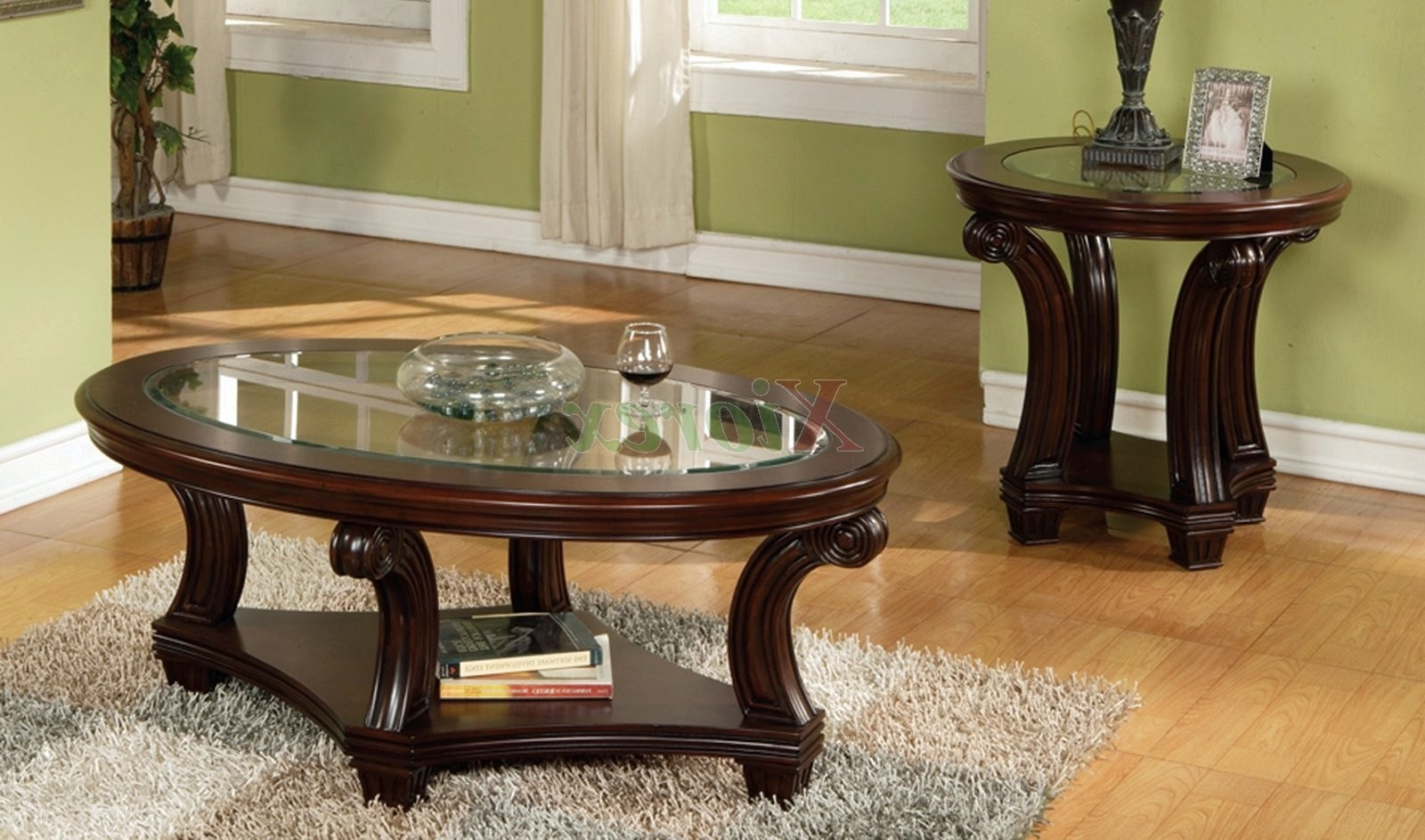Stunning Coffee Table Cheap End Tables And Coffee Table Sets Perseus Glass Top round coffee table and end tables