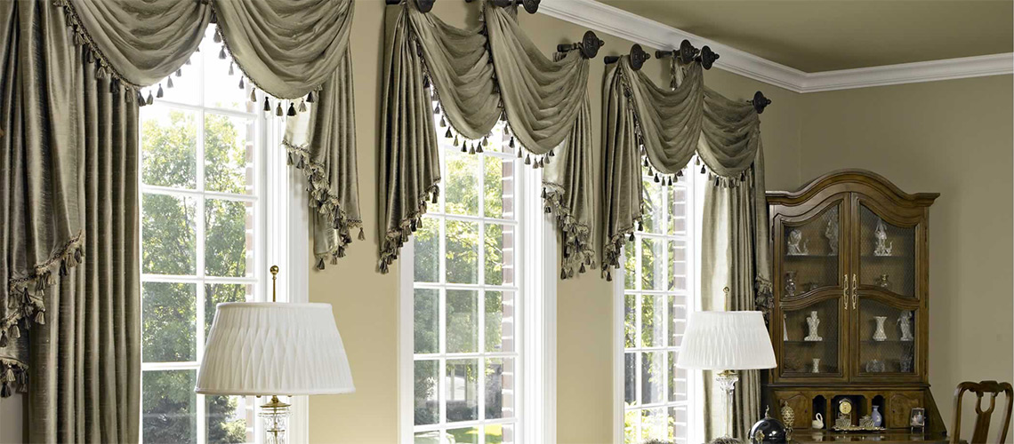 Stunning Custom Window Treatments custom window treatments
