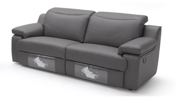 Stunning Detroit 3 seater 600 3 seater recliner sofa