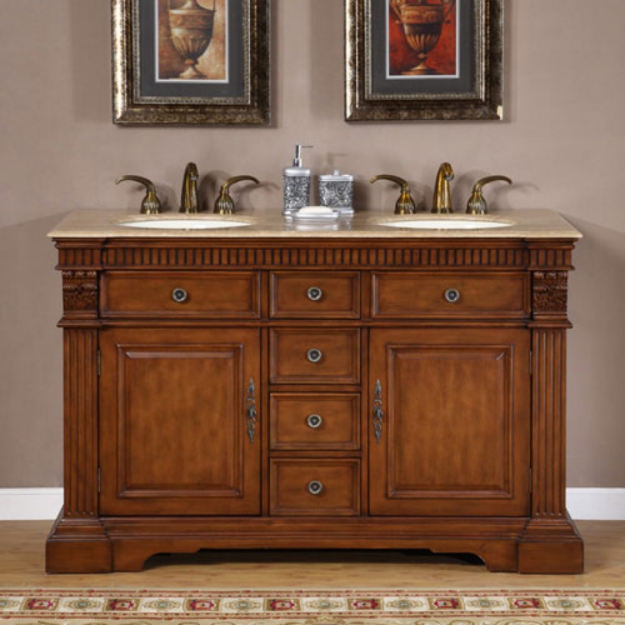 Stunning ... Furniture Style Double Sink Bathroom Vanity · Loading zoom furniture style bathroom vanity