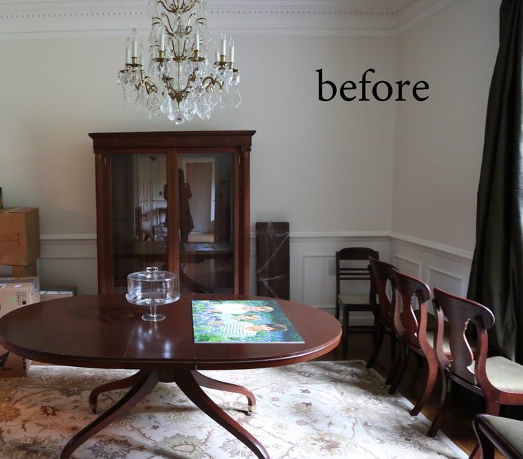 Stunning I loved the existing chandelier and wanted to really set it off with best dining room paint colors