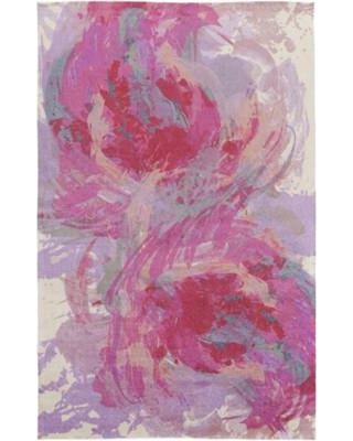 Stunning Latitude Run Donie Hot Pink Area Rug LTRN2966 Rug Size: 8u0027 x 10 hot pink area rug