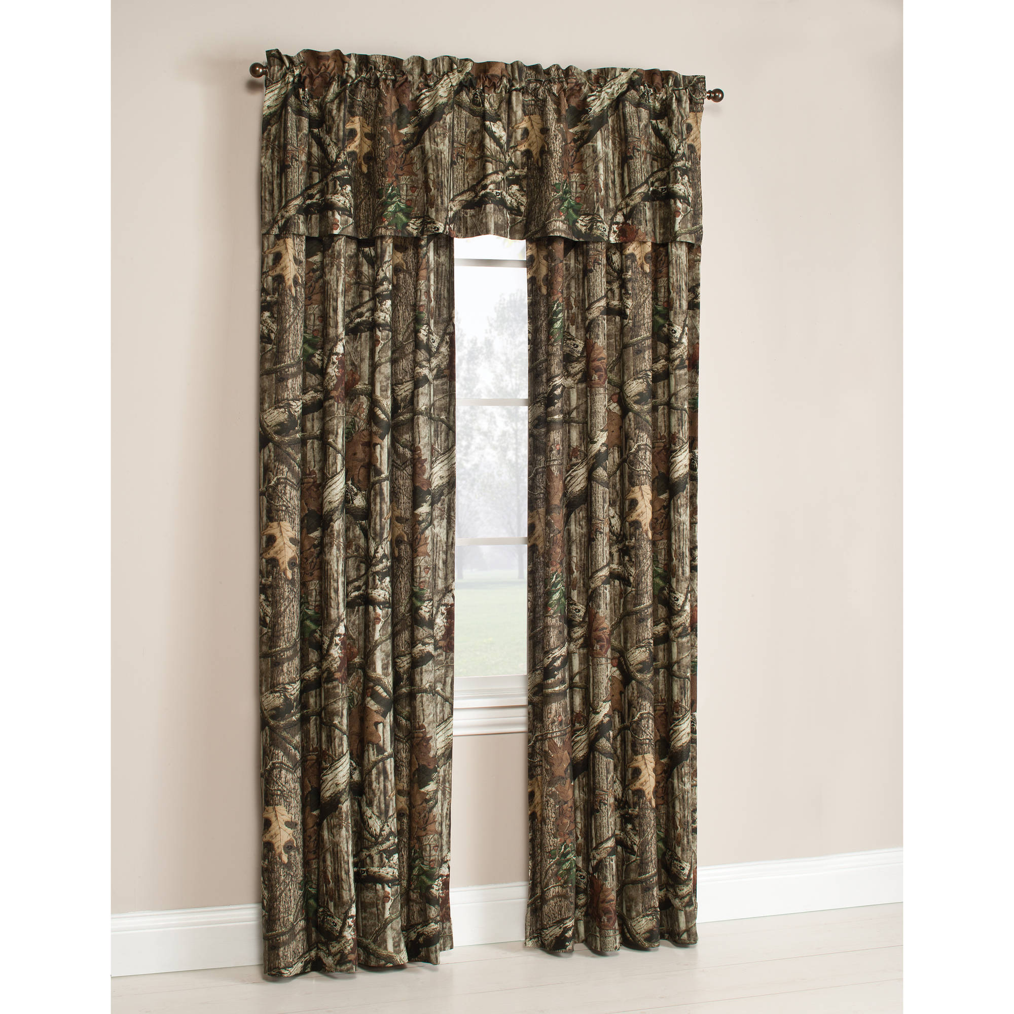 Stunning Mossy Oak Break-Up Infinity Camouflage Print Window Curtain Panels -  Walmart.com camo blackout curtains