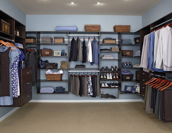 Stunning Previous walk in closet organizers do it yourself