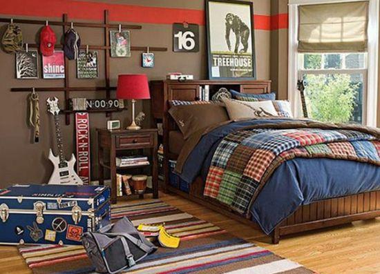 Stunning Rock n roll teen bedroom idea cool teen bedrooms