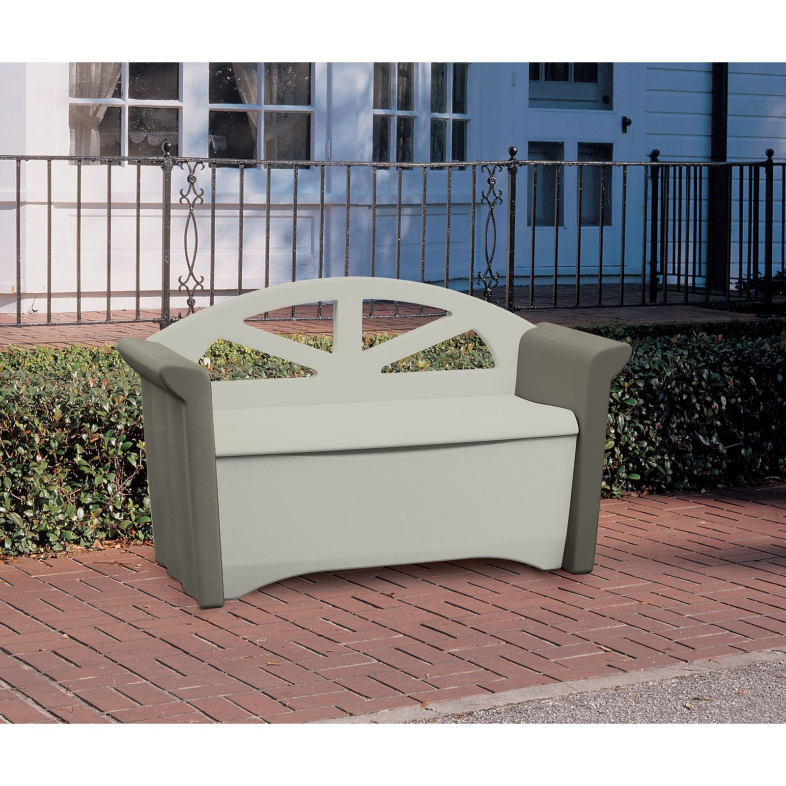 Stunning Rubbermaid Storage Bench Deck Box 3 rubbermaid patio storage bench