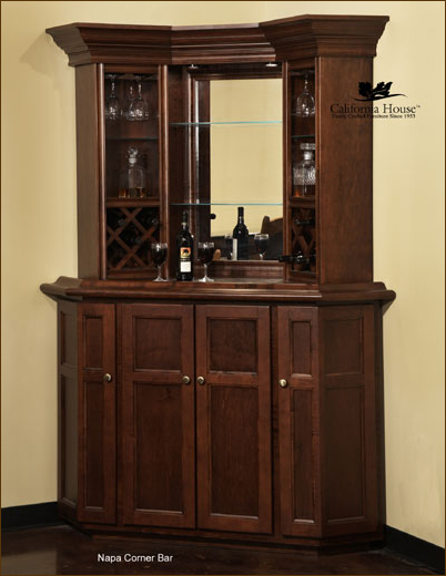 Stunning small home bars ideas | Home Bar Furniture, Home Corner Bars, Wet corner bar furniture for the home