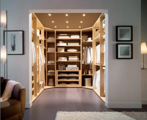 Stunning Space saving walk-in closet design, modern bedroom ideas bedroom with walk in closet