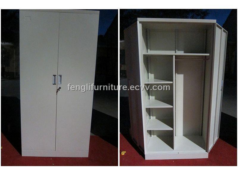 Stunning Steel Wardrobe Closet Flc 013 China Wardrobe Fengli metal wardrobe closet