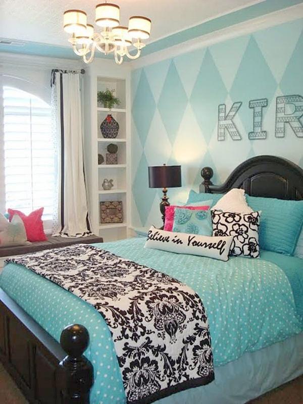 Stunning teenage-girl-bedroom-ideas-in-blue2 teen girl room decor