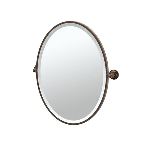 Stunning Tiara Bronze Framed Oval Mirror bronze oval mirrors bathroom