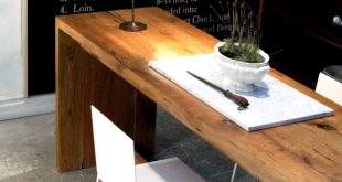 Stunning would love 2 long narrow tables- one for laptop desk, another for long narrow dining table