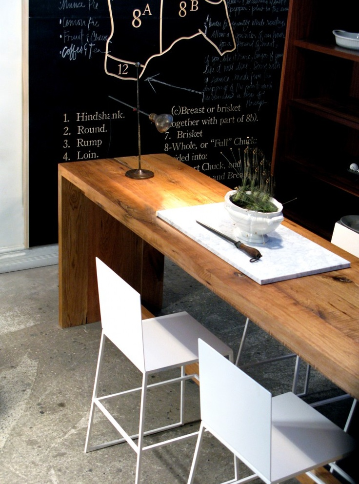 Narrow Dining Table Useful And Cly