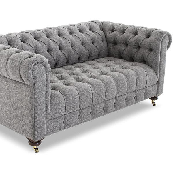 Stylish 25+ best ideas about Tufted Sofa on Pinterest | Tufted couch, Home flooring gray tufted sofa