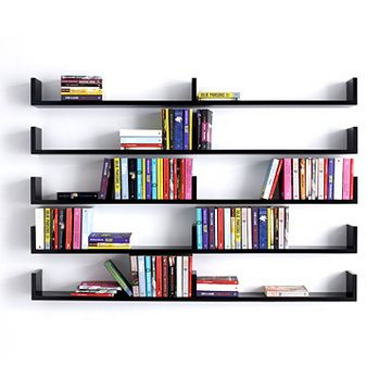 Stylish 26 Of The Most Creative Bookshelves Designs. Wall Mounted BookshelvesBedroom  ShelvesBookshelf ... wall mounted bookcase shelves