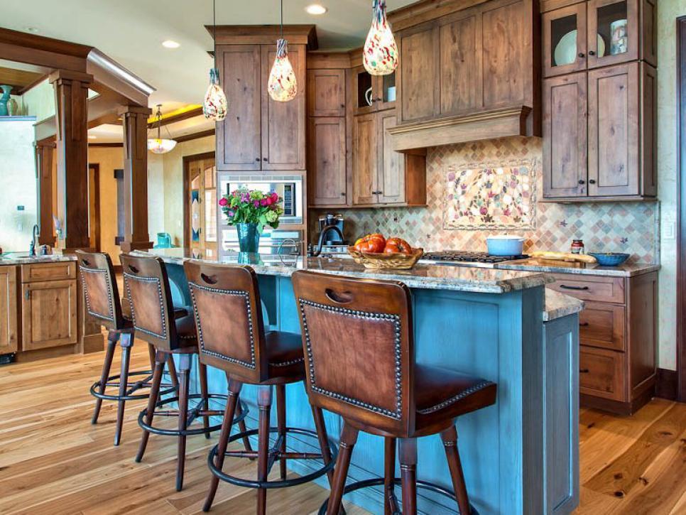 Stylish Beautiful Pictures of Kitchen Islands: HGTVu0027s Favorite Design Ideas | HGTV kitchen designs with island