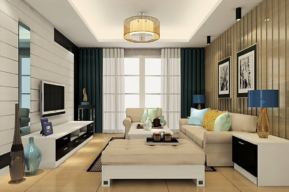 Stylish ceiling lamps table lamps and ceiling lights in living room - Ceiling living room ceiling lights
