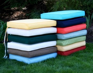 Stylish Garden Bench Seat Pads Garden Design Ideas garden furniture cushions