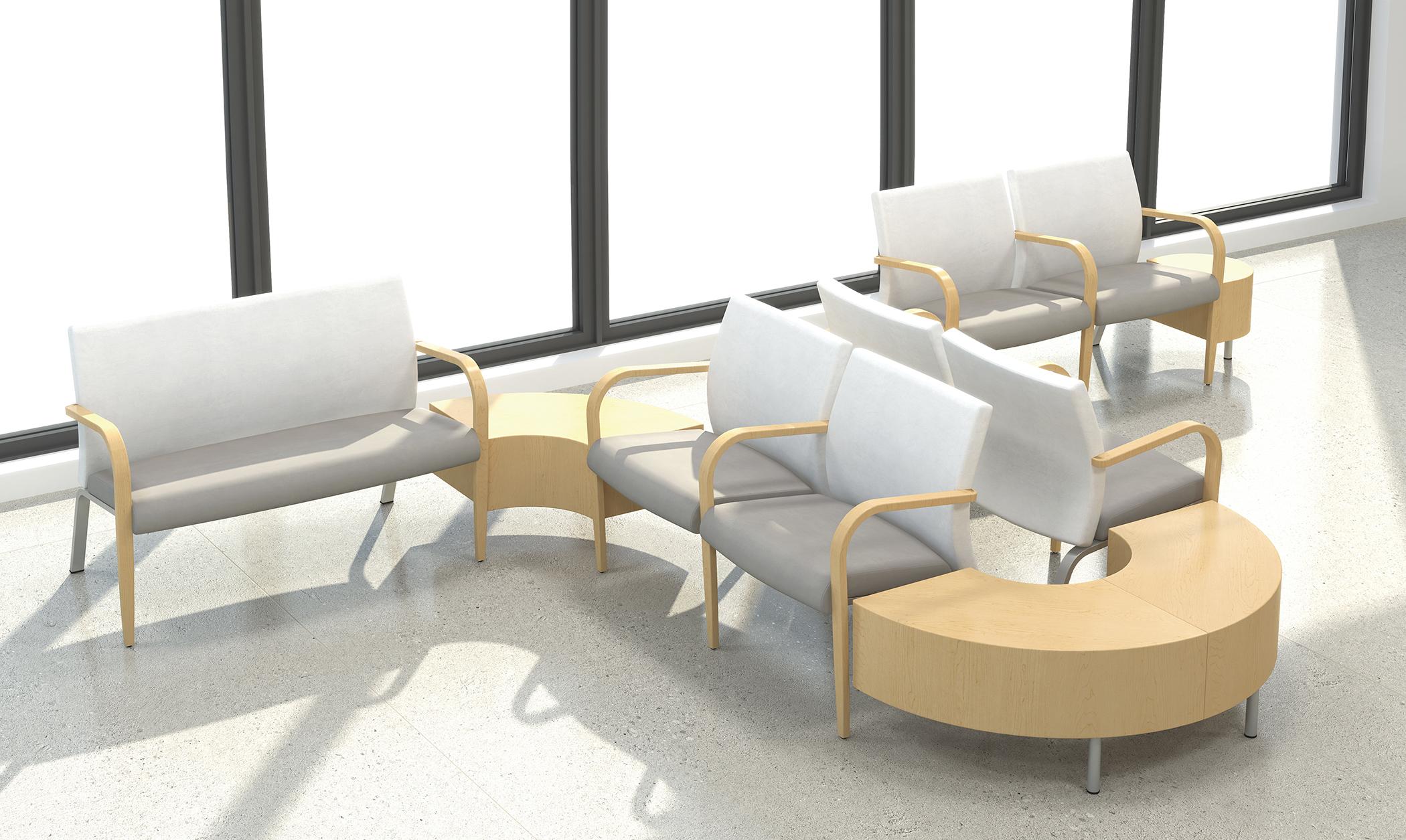 Stylish Krug / Cressida waiting room furniture