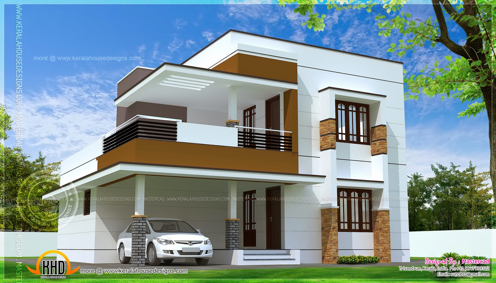 Stylish Modern House Plans erven 500sq m | Simple modern home design in 1817 simple home design