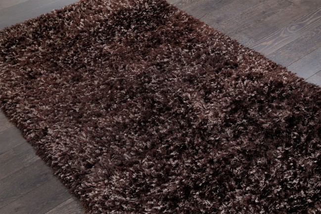 Stylish Solid Brown Shag Rug 22046 5x8 Zoom. Solid Brown Shag Rug 22046 brown shag carpet