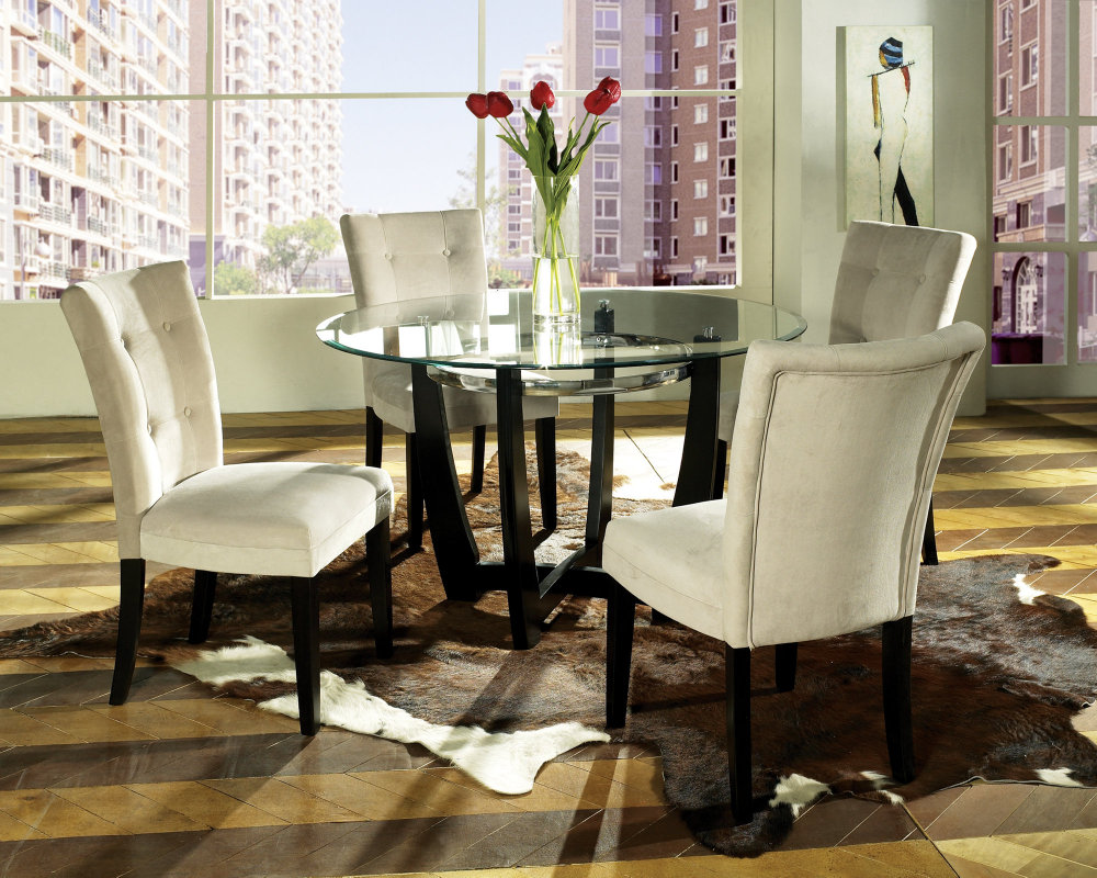 Stylish ... Trend Round Dining Room Table Sets 95 On Small Home Decor Inspiration round dining room table sets
