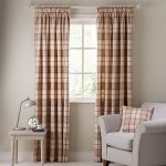 Terrific tartan curtains provides prestigious look