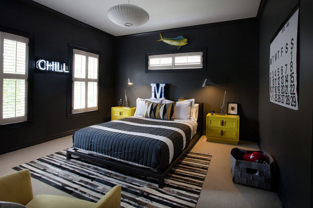 Awesome Eye-Catching Wall Décor Ideas For Teen Boy Bedrooms teen boy room decor