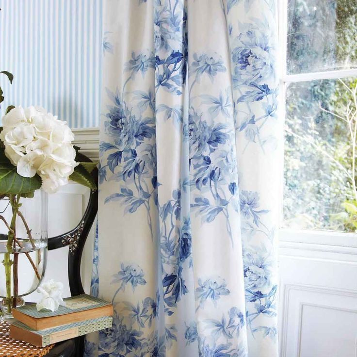 Trending 25+ best ideas about Floral Curtains on Pinterest | Bold curtains, Colorful blue and white floral curtains