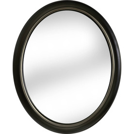 Trending 60 allen + roth x Oil-Rubbed Bronze Oval Framed Wall Mirror for upstairs bronze oval mirrors bathroom