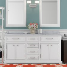 Trending Colchester 60 double sink bathroom vanity
