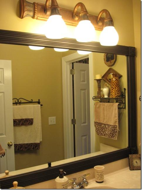 Trending Full Size of Bathroom Black Rectangle Framed Bathroom Mirrors Iron Towel framed bathroom vanity mirrors