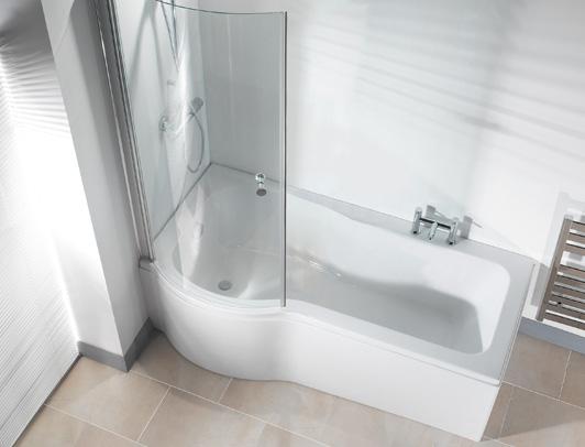 Beautifully P shared bath
