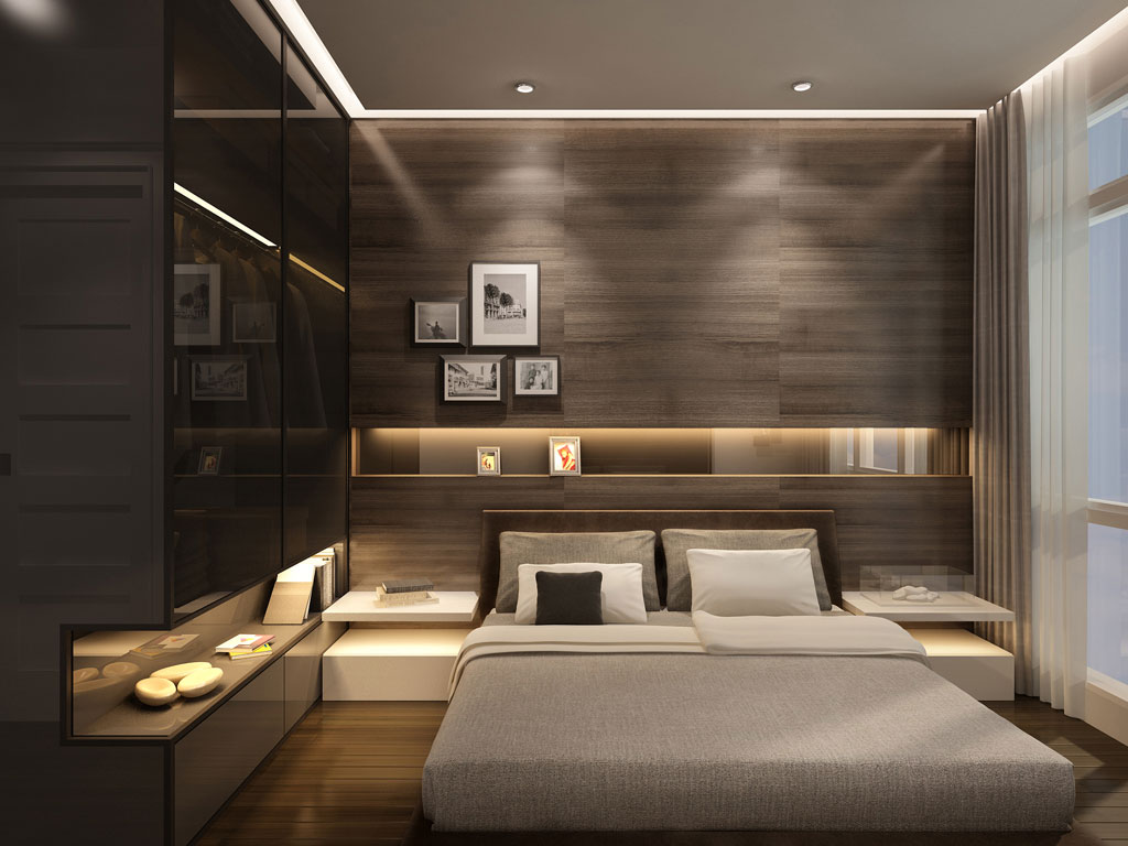 Trending I continue spoiling you with minimalist eye-candies, and today the article modern bedroom decor ideas