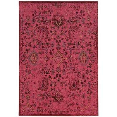 Trending Overdye Pink ... pink area rug