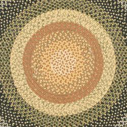 Trending ... Safavieh Hand-woven Indoor/Outdoor Reversible Multicolor Braided Rug  (6u0027 Round) round woven rug