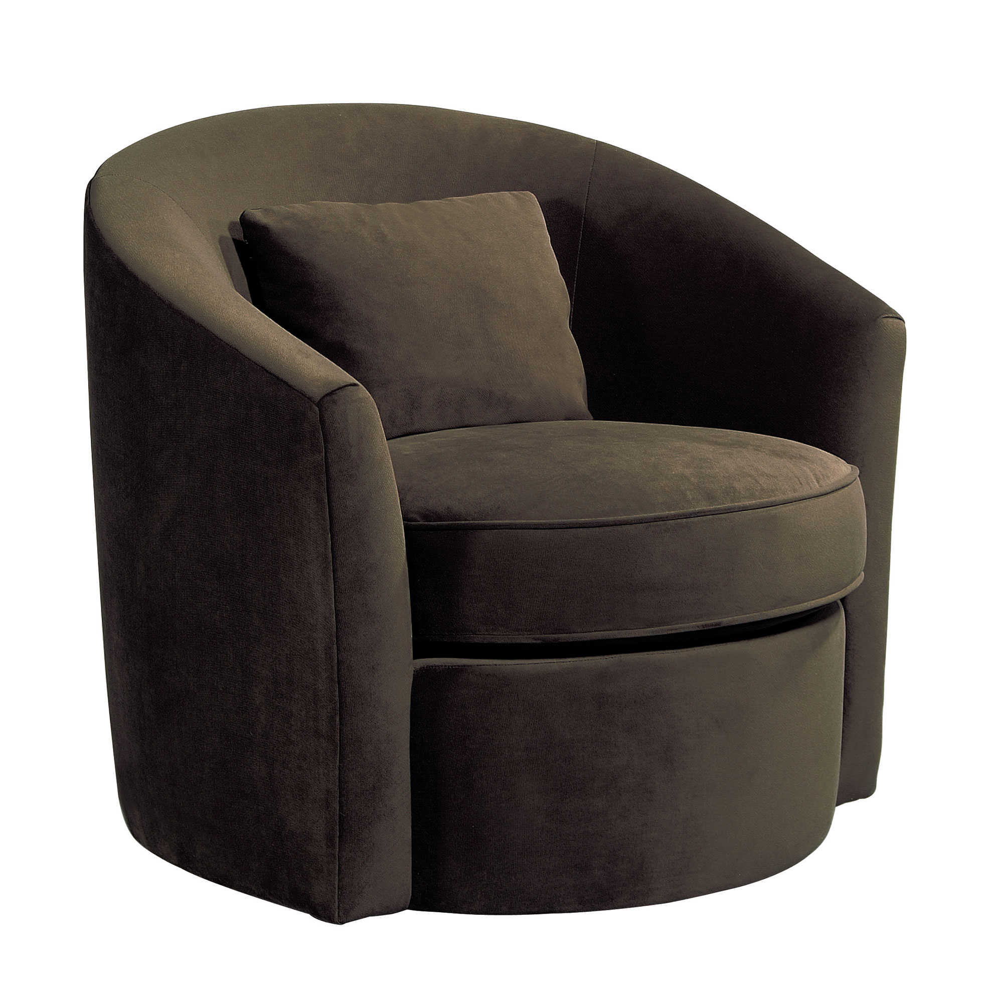 Trending Swivel Chair | Bernhardt Put a fun fabric on these for the small swivel armchair