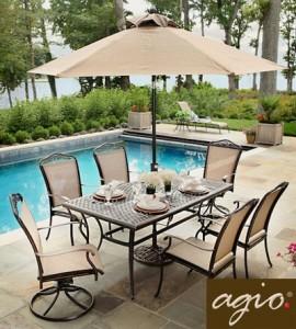 Unique Agio Patio Furniture Replacement Slings. AGIO Juliette Replacement Slings agio burgundy patio furniture