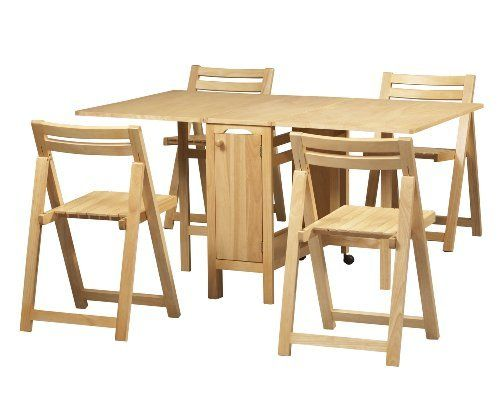 Unique Amazing of Folding Table With Chairs Inside Drop Leaf Table With Folding folding dining table with chairs inside