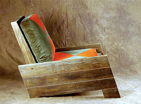 Unique Reclaimed Wood Furniture by Carlos Motta - really like this guyu0027s stuff. recycled wood furniture