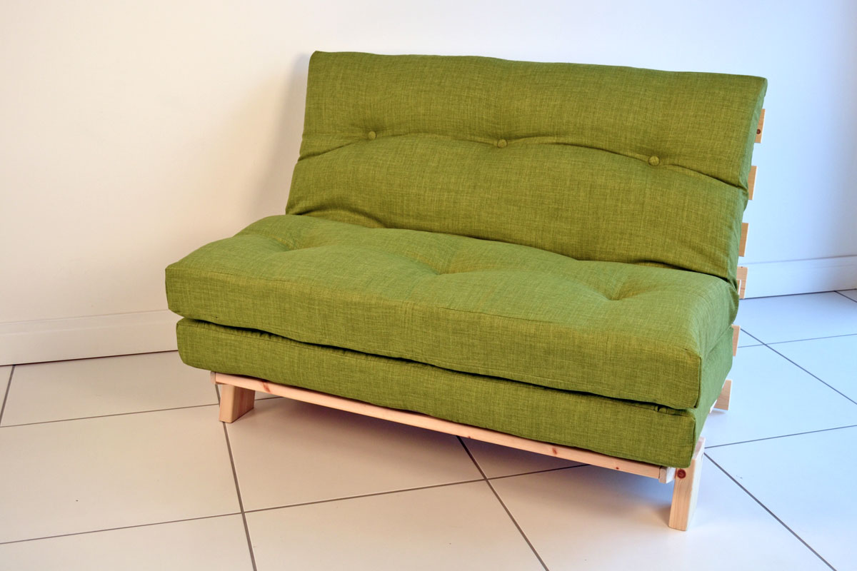 Unique ... Small Futon Couch Green ... small futon sofa bed