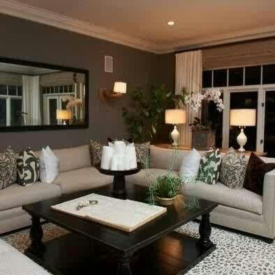 Unique The Secret to Picking the Perfect Paint Color. Home IdeasDen IdeasIiving Room lounge room decor ideas