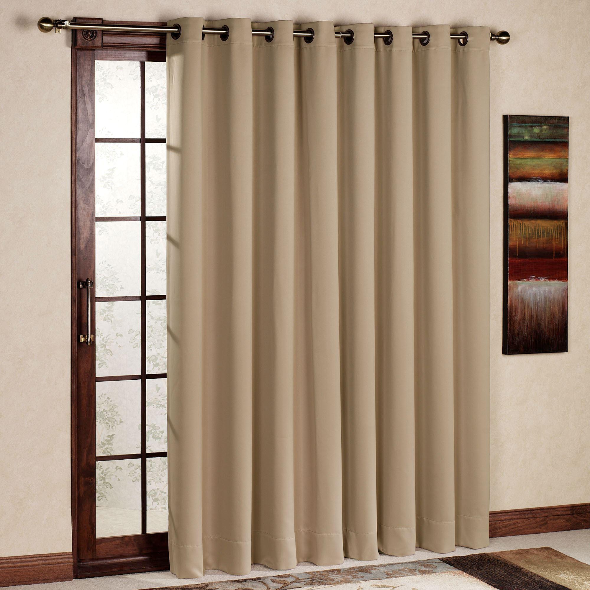 Unique Ultimate Blackout Grommet Patio Panel patio door curtains
