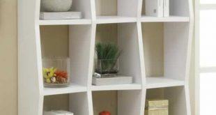 Unique White Modern Bookcase modern white bookshelf