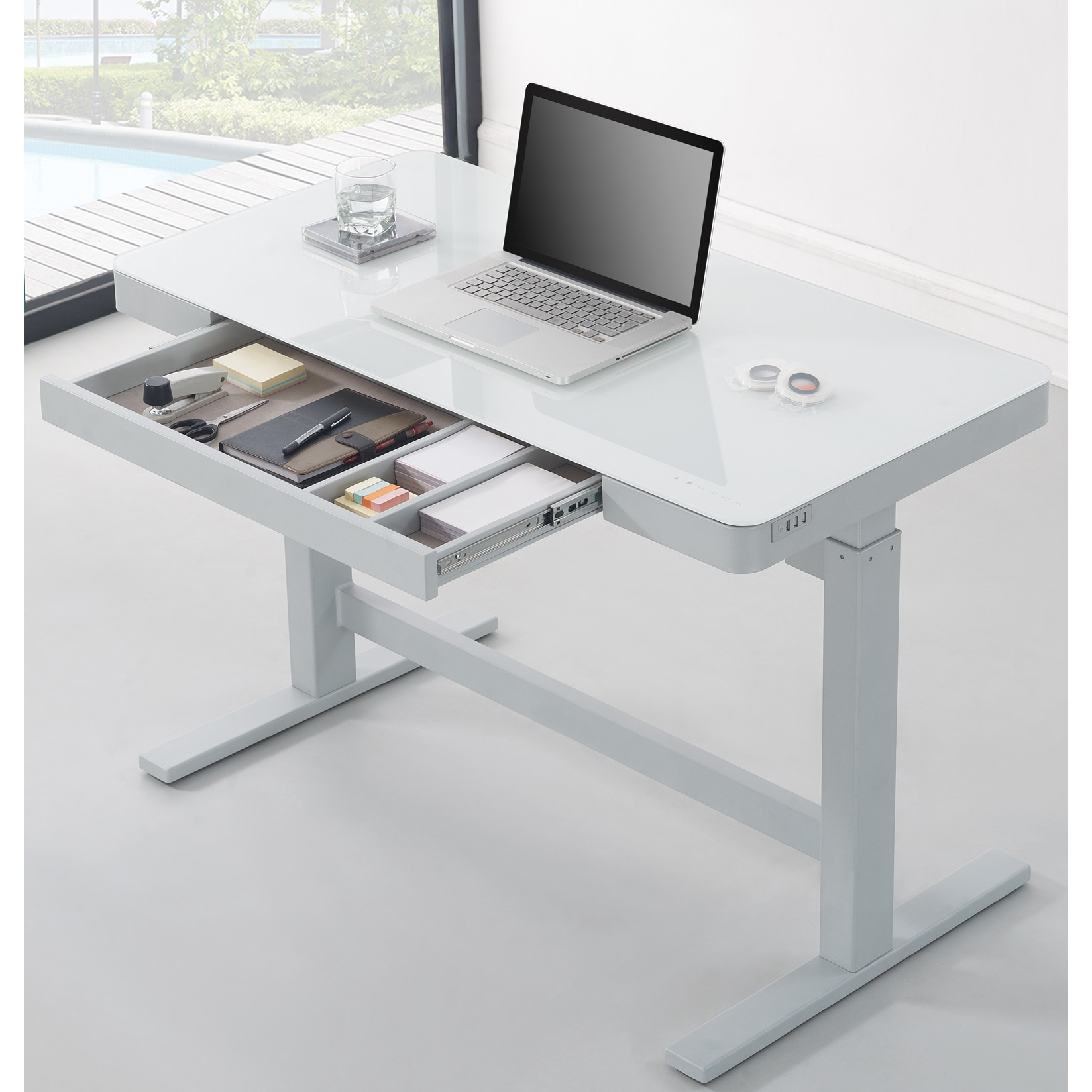 Unique Wildon Home u0026reg; Adjustable Standing Desk adjustable standing desk