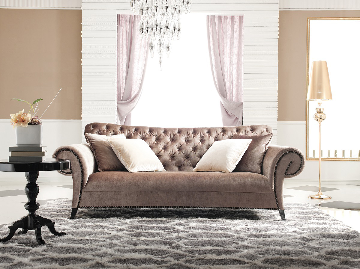 Amazing click to see larger image velvet tufted sofa