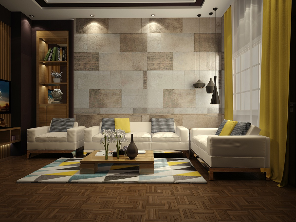 Cozy Wall Texture Designs For The Living Room: Ideas u0026 Inspiration wall designs for drawing room